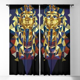Golden Tutankhamun - Pharaoh's Mask Blackout Curtain