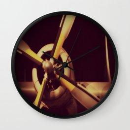 Vintage Airplane Propeller Wall Clock