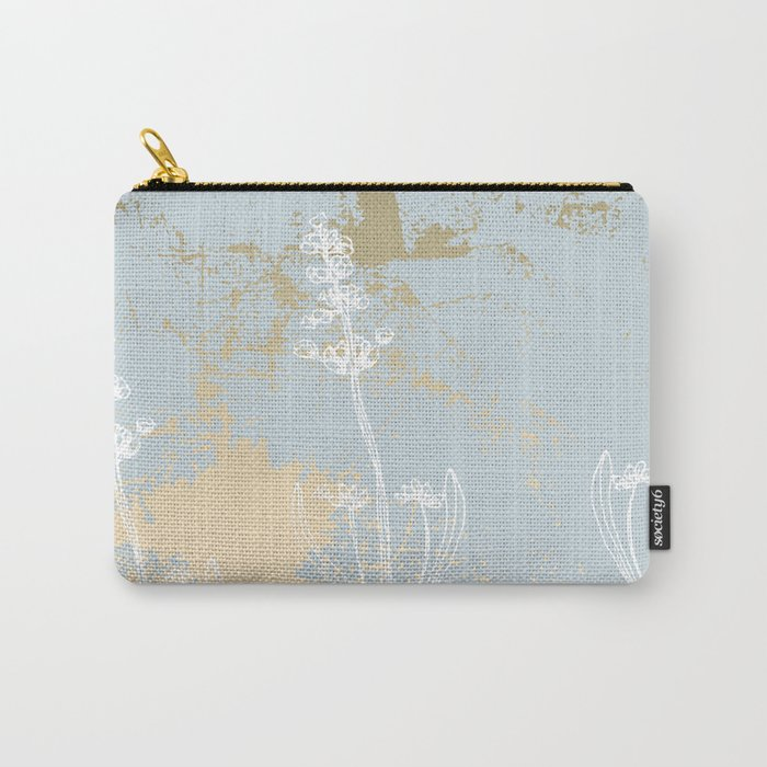 Lavender vintage gold Carry-All Pouch
