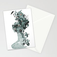 Freya's Hair (Teal) Stationery Cards