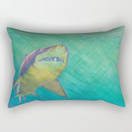 SKU318 Shark 2 Rectangular Pillow