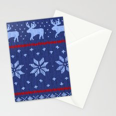 Winter Lovers Christmas Stationery Cards