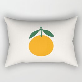 Orange Summer Citrus Rectangular Pillow