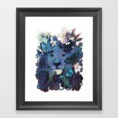 Gloomy me... Framed Art Print