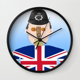 The British Wall Clock