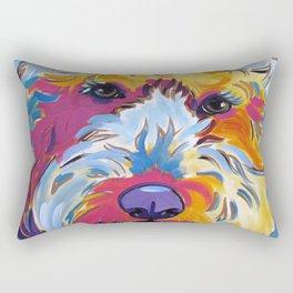 Sunshine the Goldendoodle Rectangular Pillow