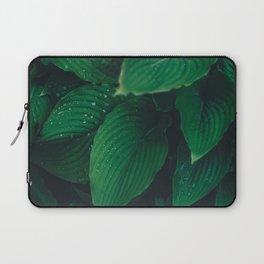 Moist Leaves Laptop Sleeve