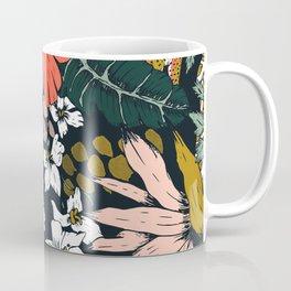 Animal print dark jungle Coffee Mug
