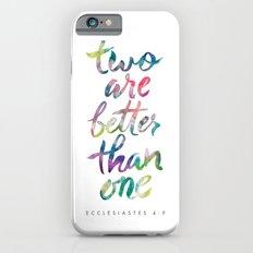 Ecclesiastes 4:9 Slim Case iPhone 6s