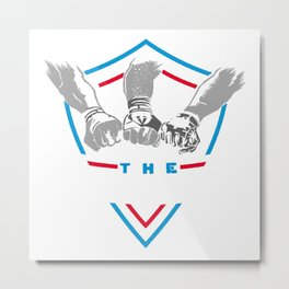 The Shield Metal Print