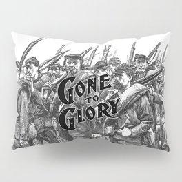 Gone To Glory B&W Pillow Sham