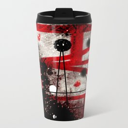 Three Months of Stress and Fear at Home in Los Angeles in 2014 Metal Travel Mug