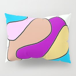 Colors jellyfish Pillow Sham
