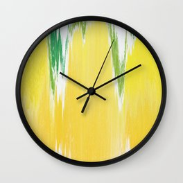 Pixel Sorting 59 Wall Clock