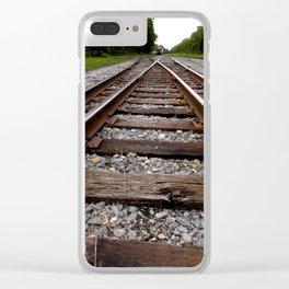 RAILROAD ADVENTURE 4 Clear iPhone Case