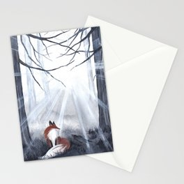 Fox and the Crow Stationery Cards