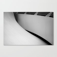 unfold Canvas Print