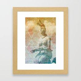 Ixchel, diosa maya  Framed Art Print