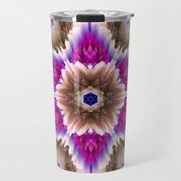 glitch star bouquet Travel Mug