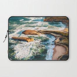 port campbell coastline in australia Laptop Sleeve