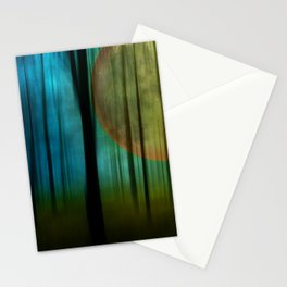 Full Moon Forest Stationery Cards