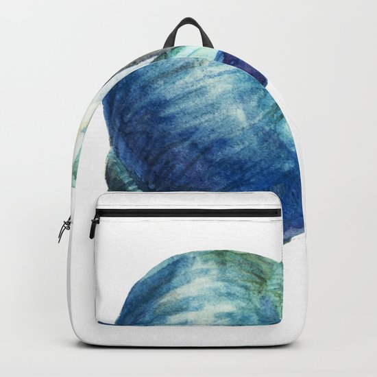 Blue Shell Backpack