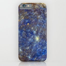 Planet Mercury Deep Space Mission Photograph iPhone Case