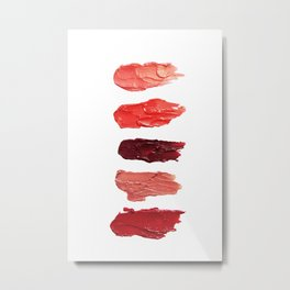 Lipsticks Metal Print