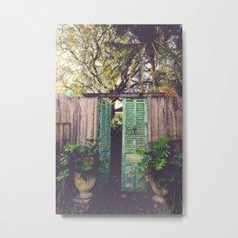Saint Augustine Garden Metal Print