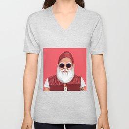 Hipstory -  Santa Claus Unisex V-Neck