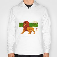 simba Hoodies featuring Simba, the lion king by lulu555