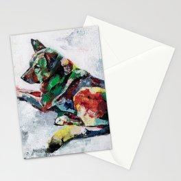 German Shepherd 2 Stationery Cards