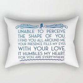 The Shape of Water Rectangular Pillow
