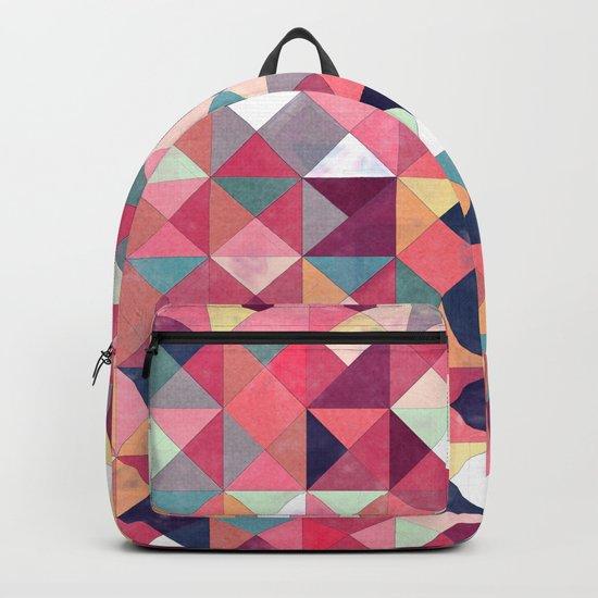 Lovely Geometric Background Backpack