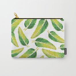Vivid Feathers Carry-All Pouch