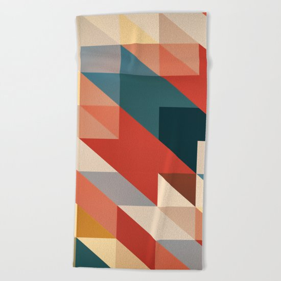 ABSTRACT 9D Beach Towel