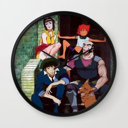 solo spike cowboy bebop main cast Wall Clock
