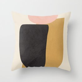 Abstract Shapes 34 Throw Pillow