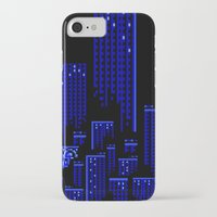 cityscape iPhone & iPod Cases featuring Cityscape by Something Funny Is Happening
