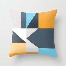 Modern Geometric 61 Throw Pillow