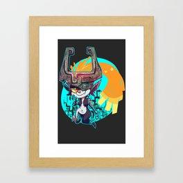 Midna Framed Art Print