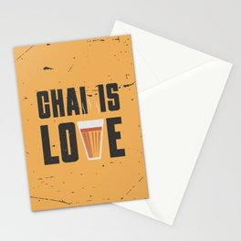 Chai Is Love Stationery Cards