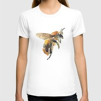 bee T-shirts featuring Bee by coconuttowers