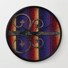 Locks Wall Clock