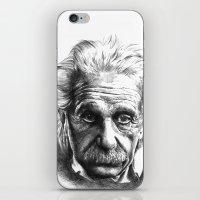 einstein iPhone & iPod Skins featuring Einstein by Jaume Tenes
