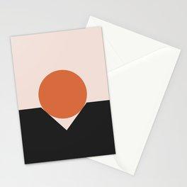 Sunset Golfing Stationery Cards