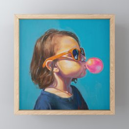 Oliv Framed Mini Art Print