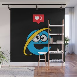 No love for Internet Explorer Wall Mural