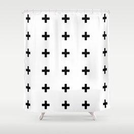 +++ (black) Shower Curtain