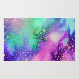 """Cosmic Lights"" Rug"